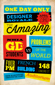 Graphic Design 3 presentations