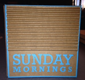 Joe Vivilecchia,  Sunday Mornings, Graphic Design ll, 2013