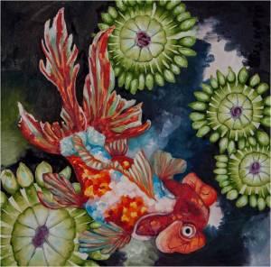 Brittney Torres, Sinuous Goldfish 1