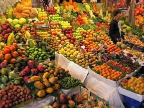 La Boqueria Market  Barcelona  Spain AGE \ Universal Image Group