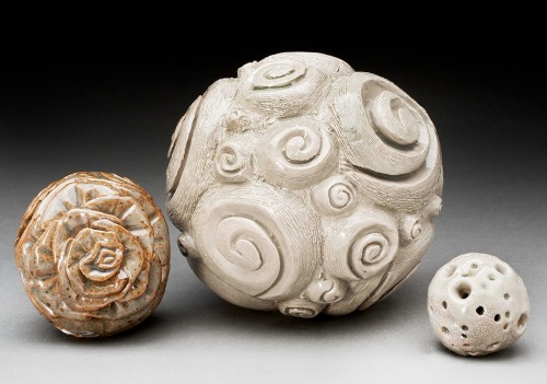 Cameo  Bixby-Clemons ,  Orbs. Porcelaneous stoneware.
