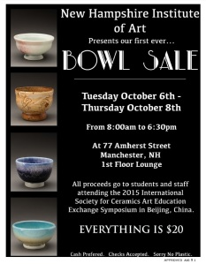 Bowls for sale!