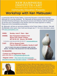 Workshop with Ken Matsuzaki